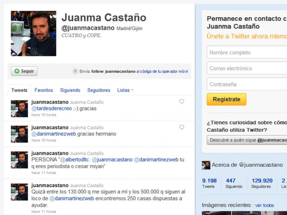El Twitter de Juanma Castaño