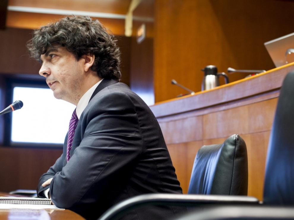 El consejero de Hacienda y Administración Pública, Mario Garcés, en una imagen de archivo