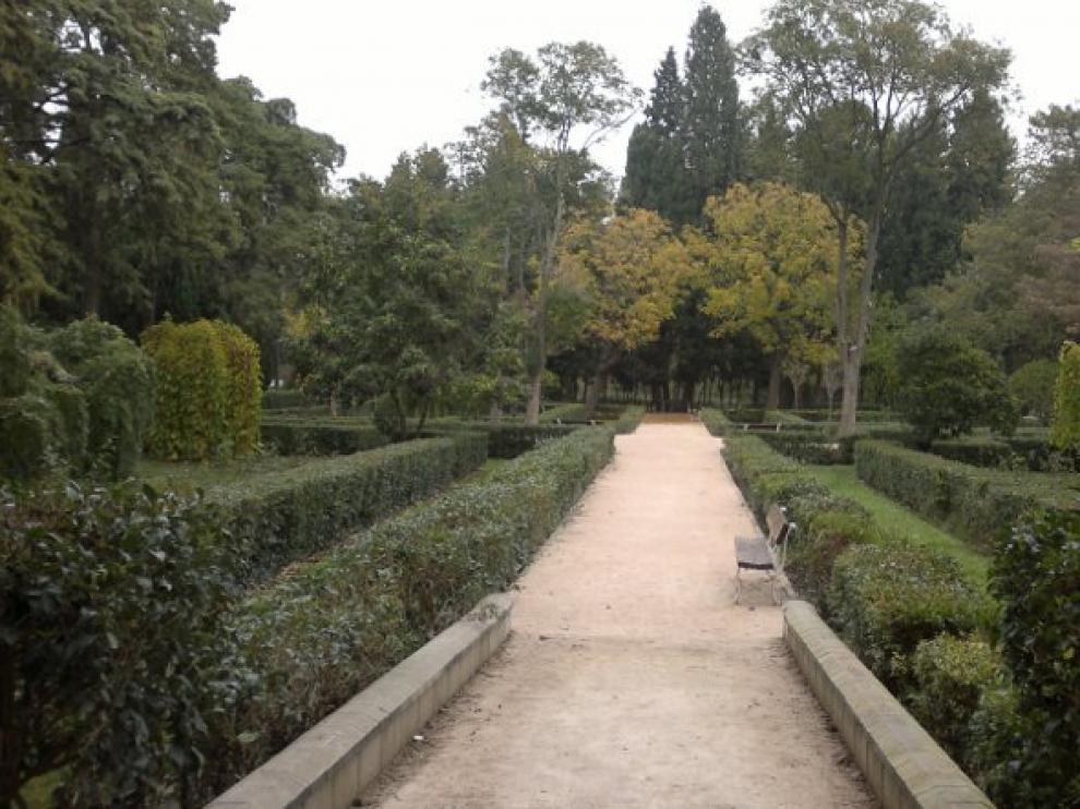 Foto actual del espacio donde se ubicaba la Rosaleda del Parque Grande