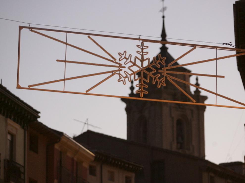 Luces de Navidad de Huesca
