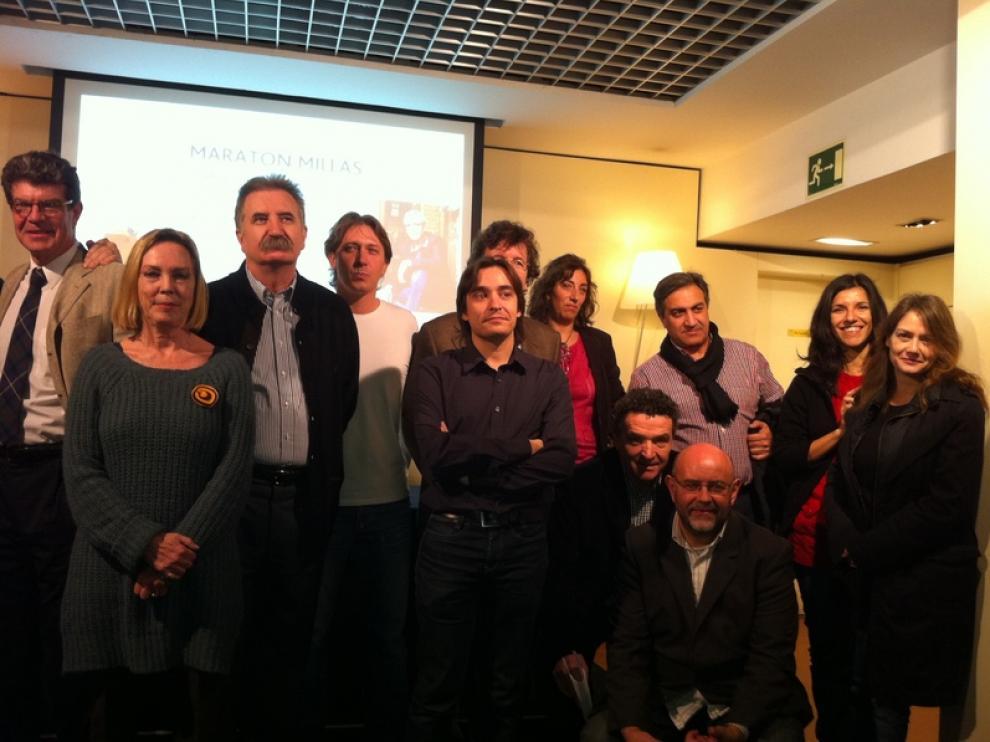 Los escritores aragoneses, en el 'Maratón Millás'