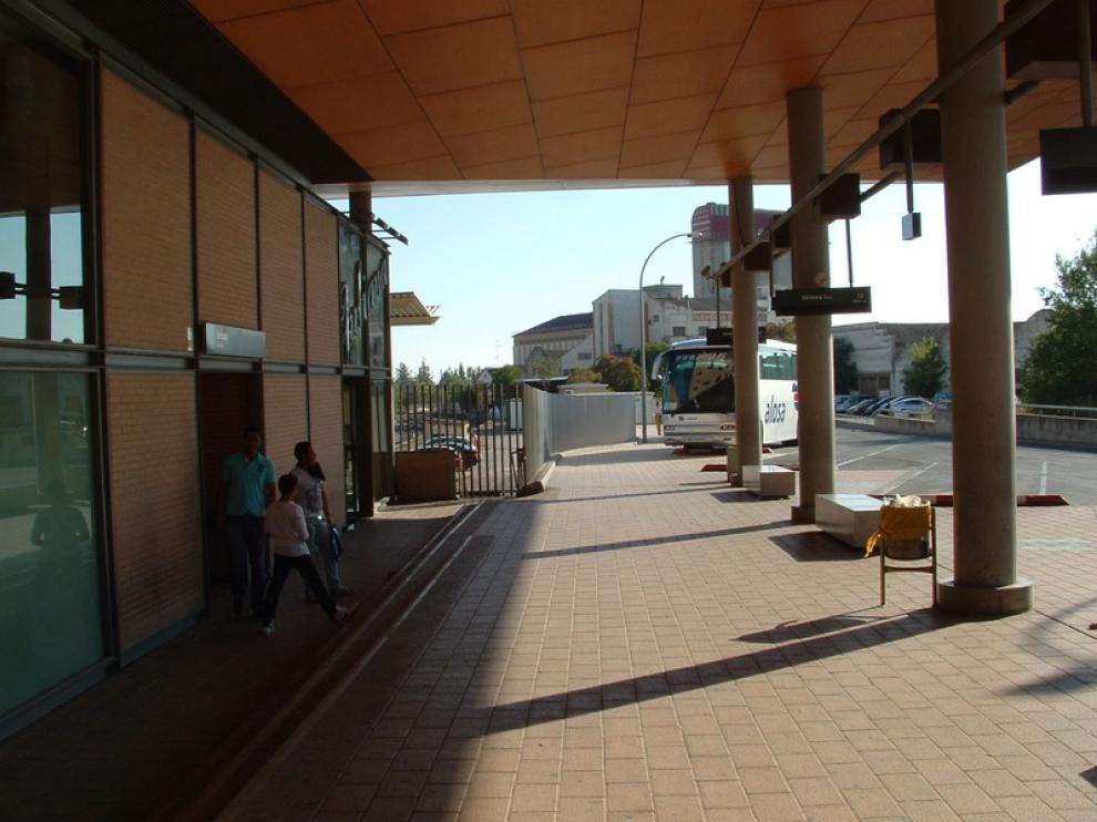 Imagen de archivo de la Estación Intermodal de Huesca, de donde sale el bus turístico