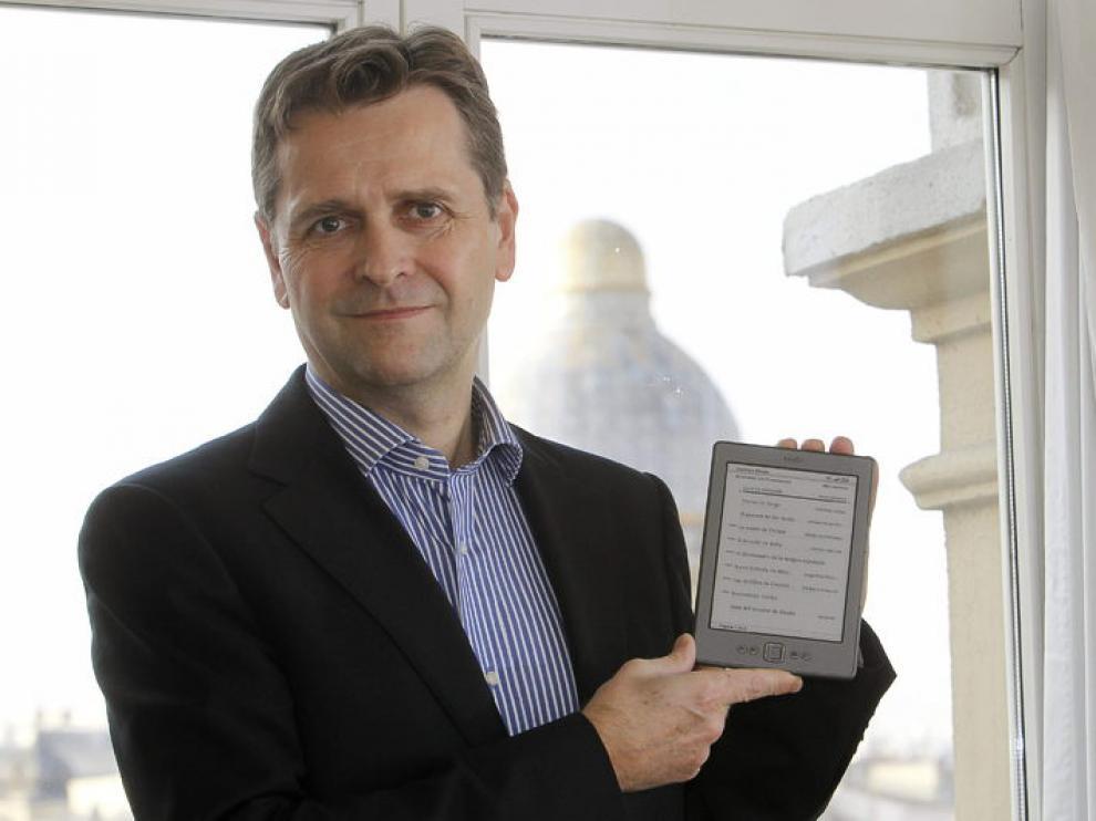 El director de Kindle Europa, Gordon Willoughby