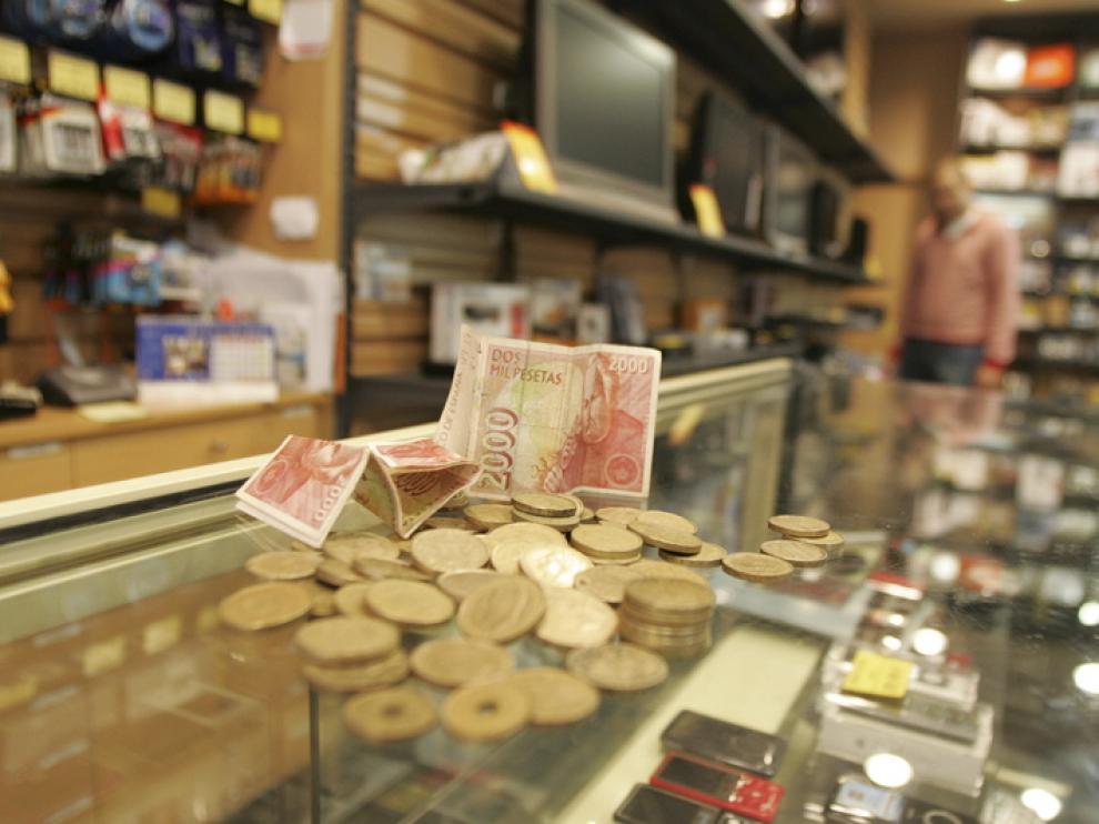 10 años de la entrada en vigor del euro y el fin de la peseta
