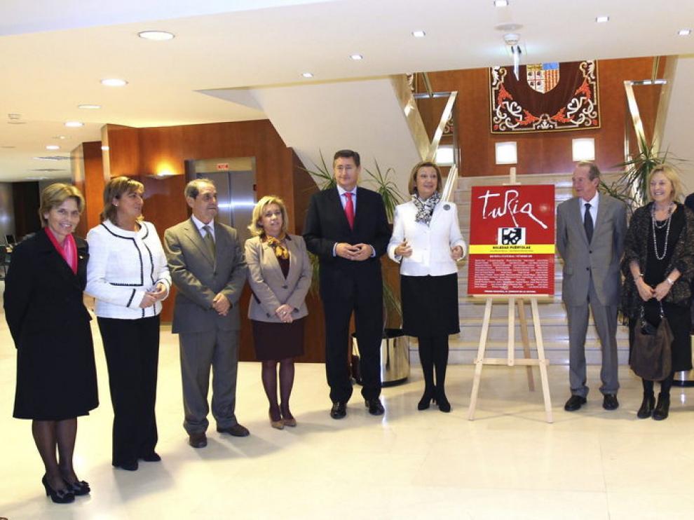 Presentación del número cien de la revista 'Turia' en Teruel