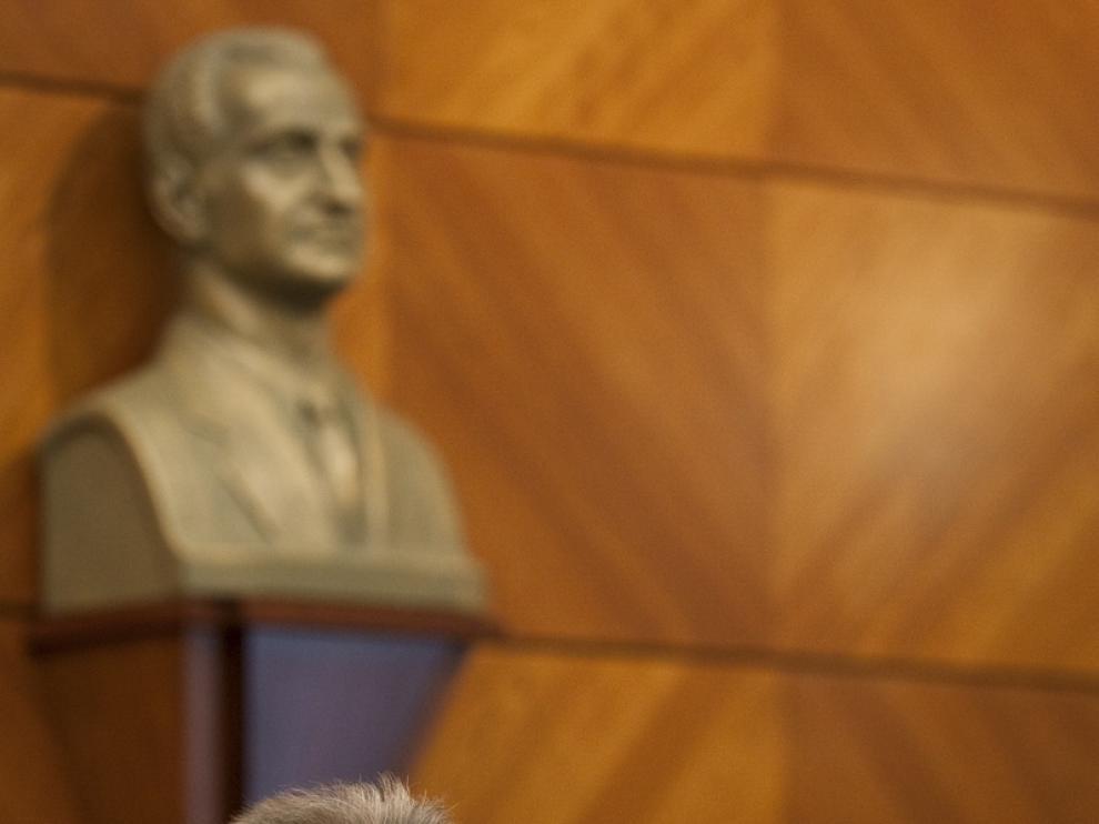 El Delegado de Gobierno en Aragón, Javier Fernández