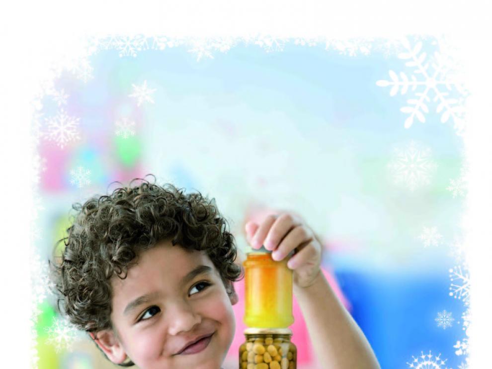 Cartel promocional de las actividades navideñas del Espacio Solidario.
