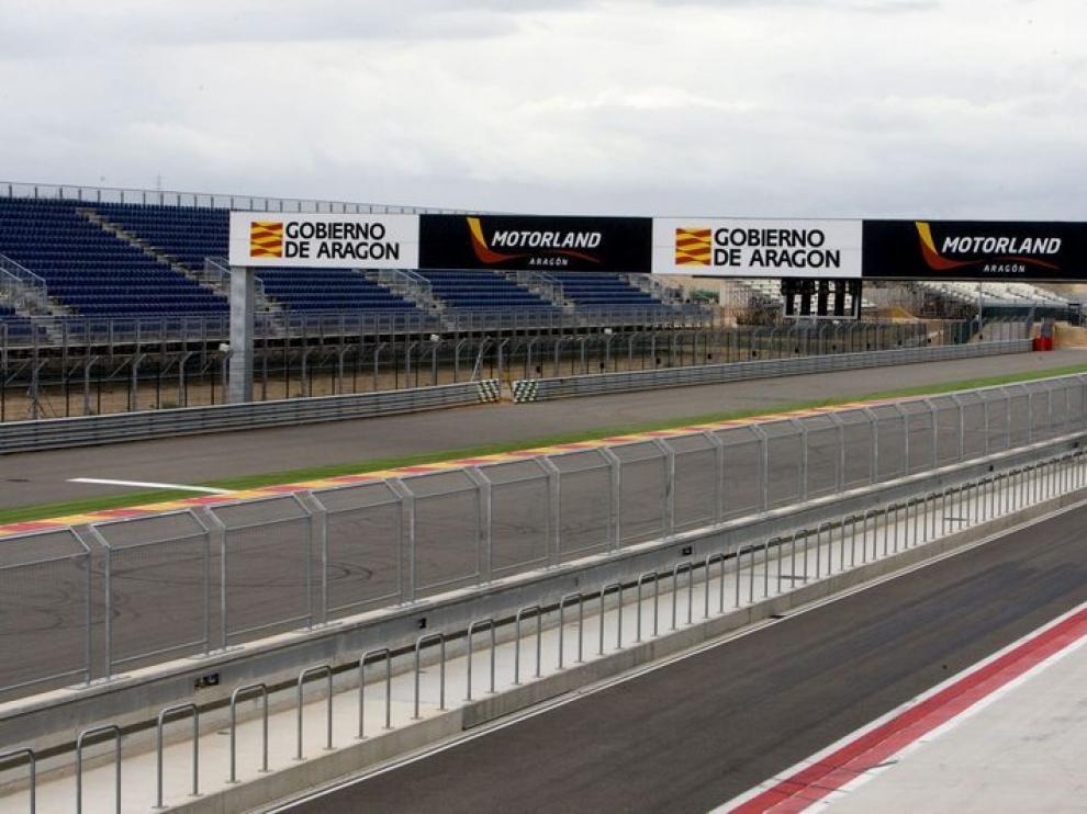 Imagen de archivo del circuito de Motorland