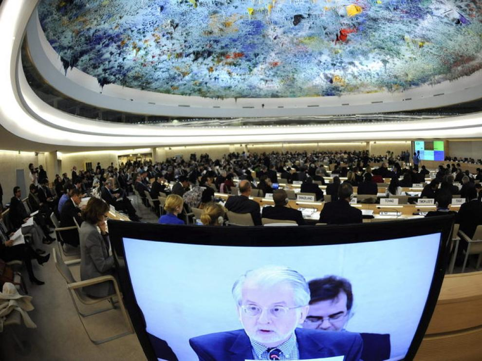 Sesión especial del consejo de Derechos Humanos de la ONU sobre Siria