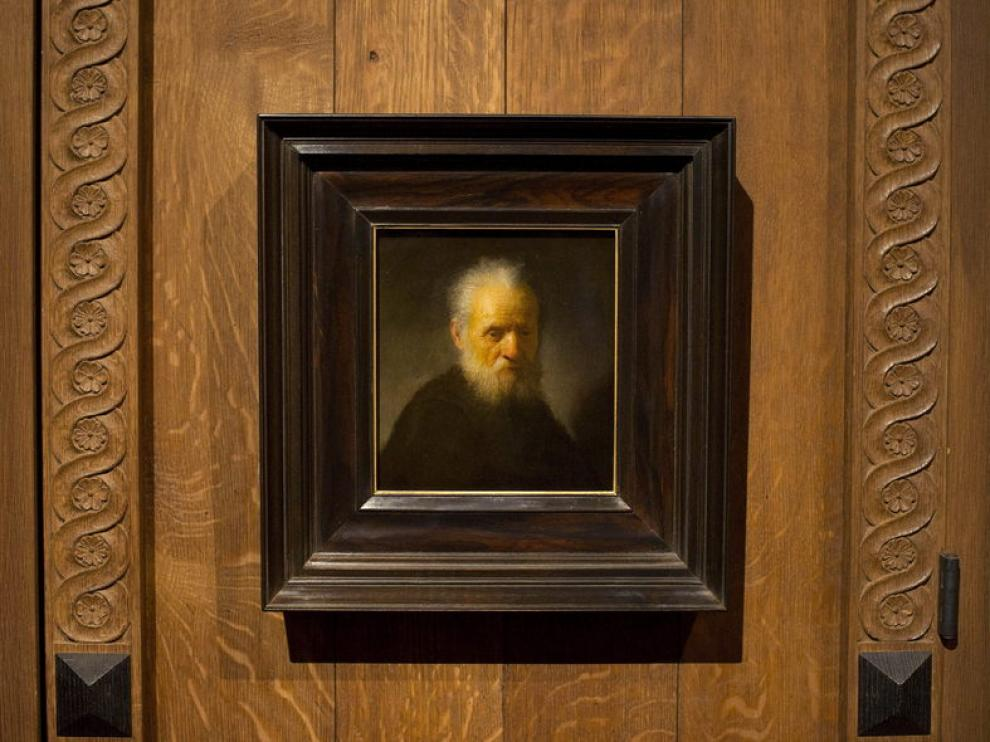 'Hombre con barba', de Rembrandt
