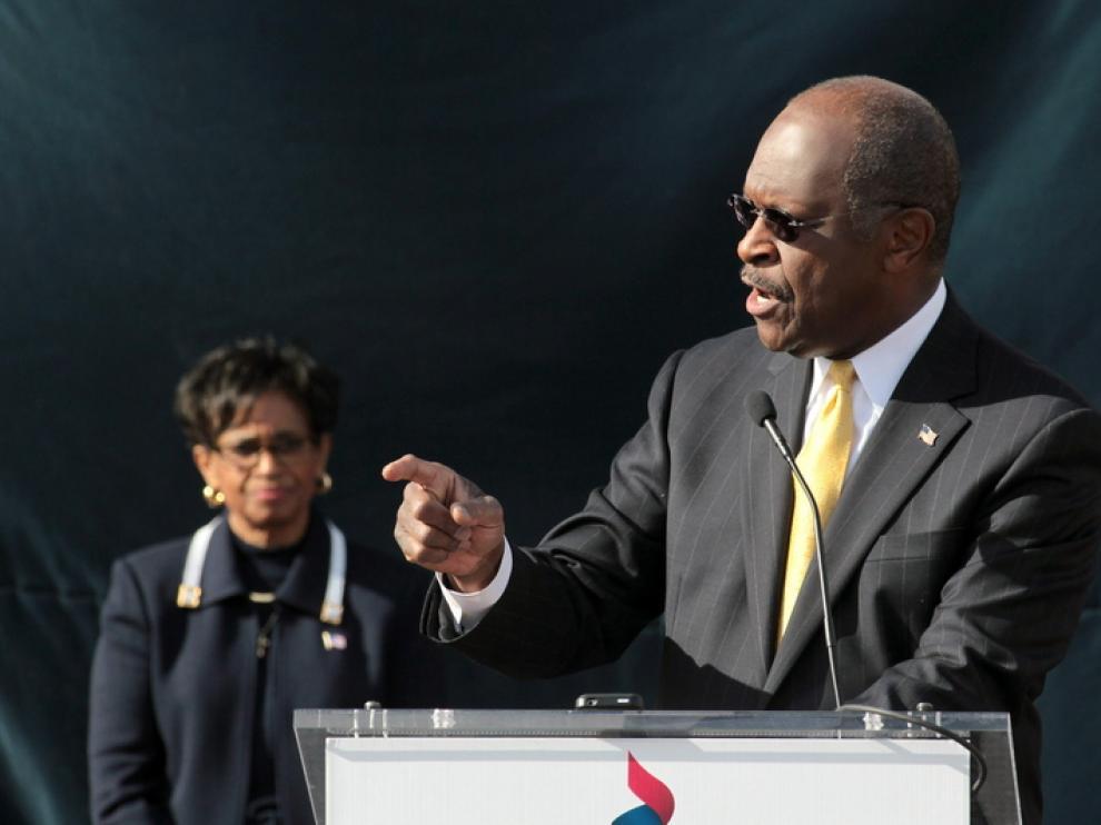 El ex candidato Cain