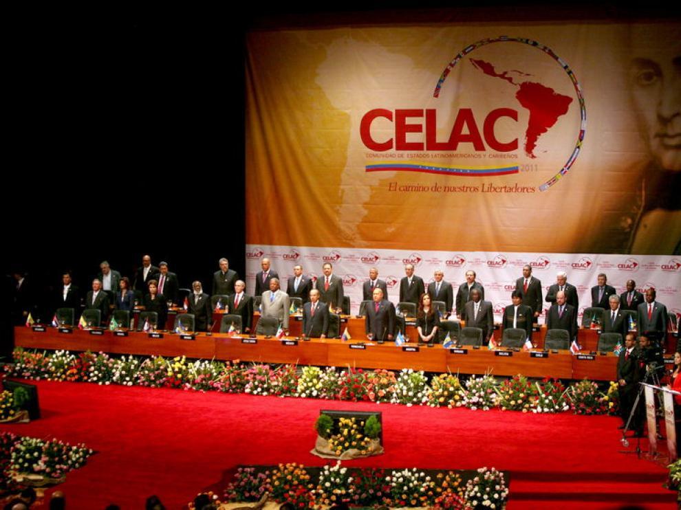 Vista general de los mandatarios que asistieron a la cumbre constitutiva de la CELAC