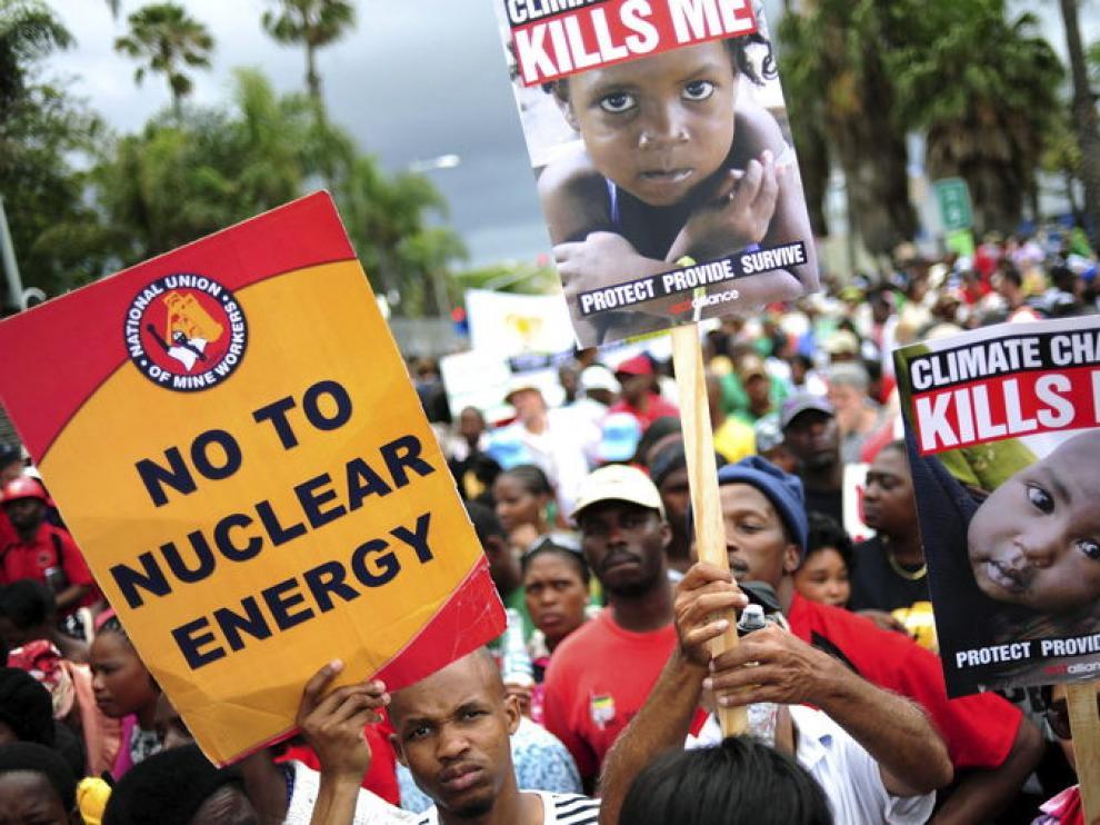 Protestas en Durban