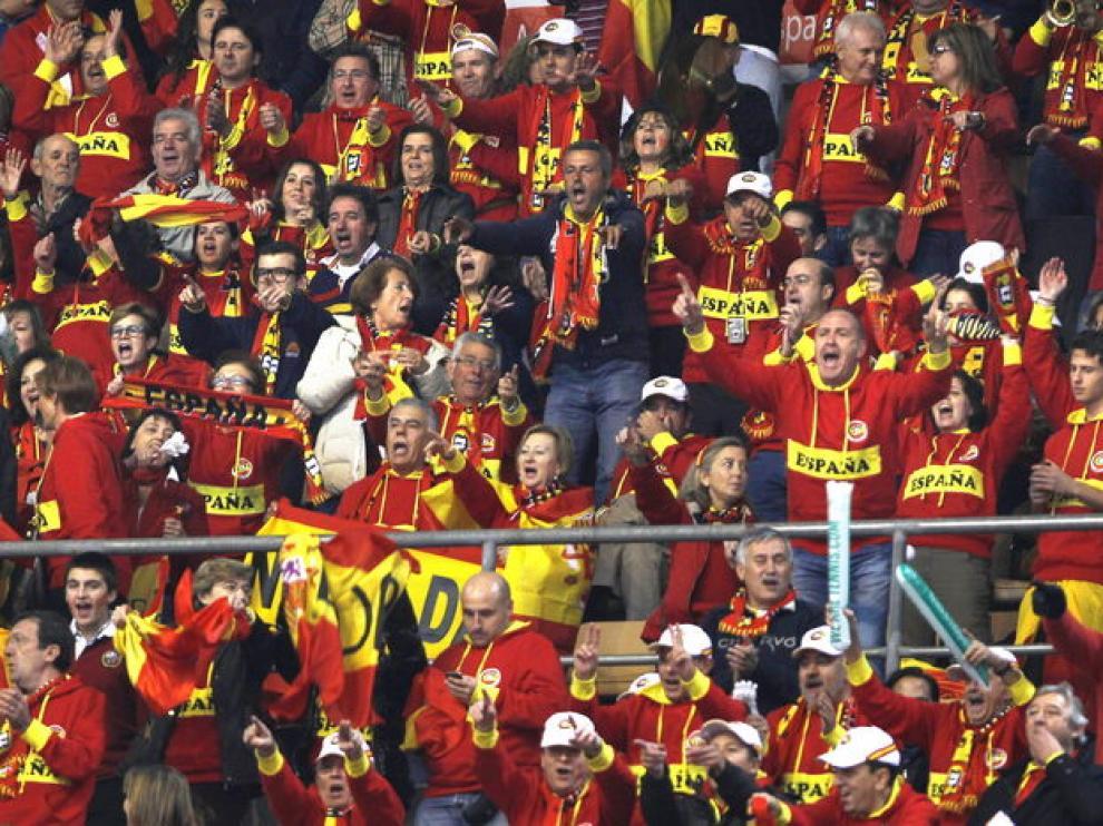 La afición española lleva 12 años sin ver perder a los suyos