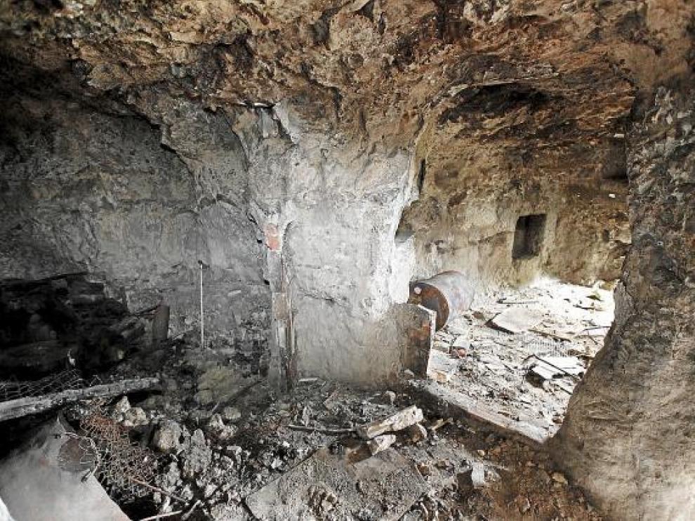 Las cuevas presentan un gran deterioro.