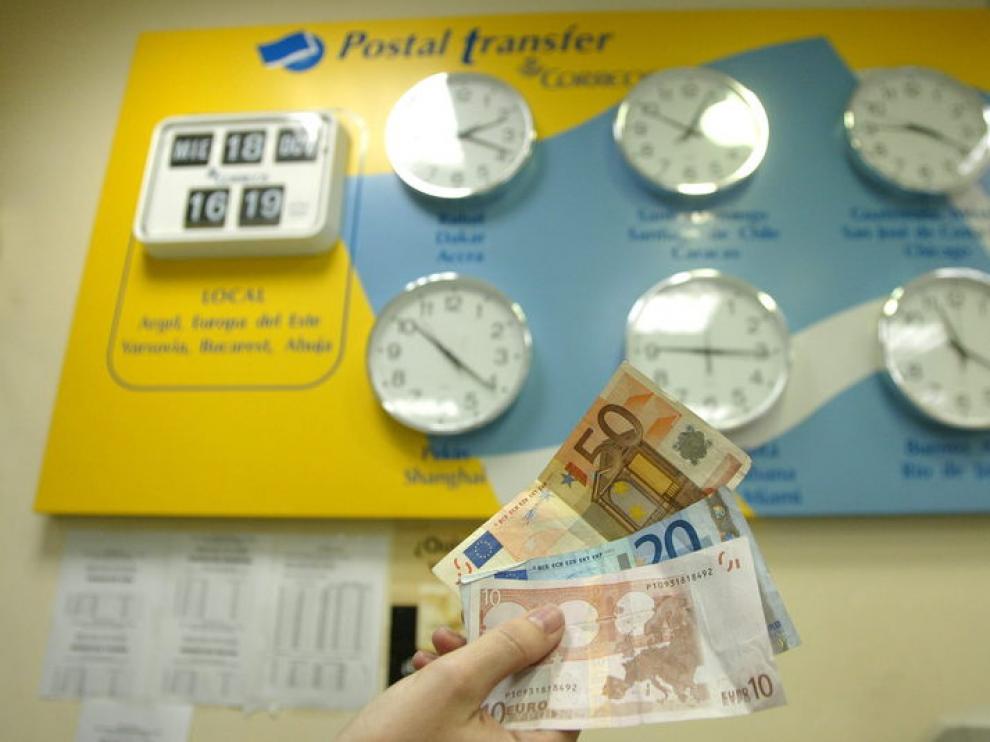 Los inmigrantes vuelven a enviar dinero