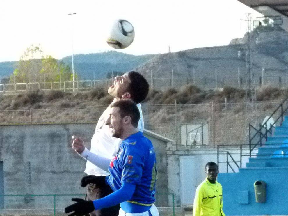 Imagen del partido que enfrentó al Calatayud y al Utebo
