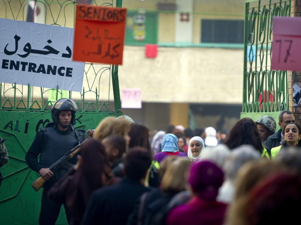 Nueva jornada electoral en Egipto