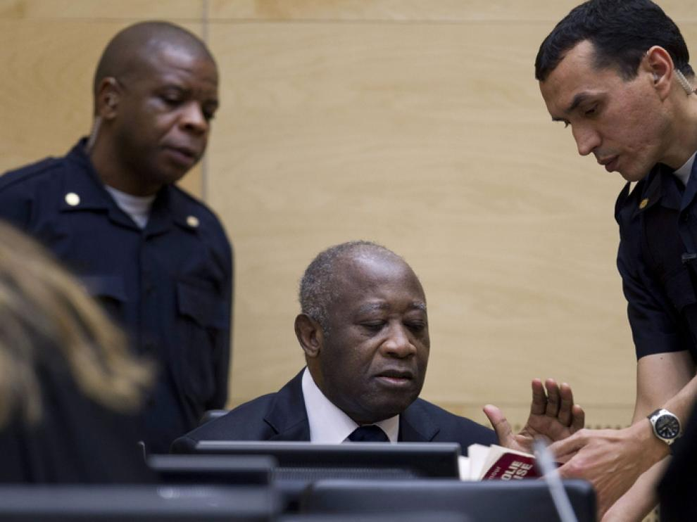 El ex presidente de Costa de Marfil, Laurent Gbagbo