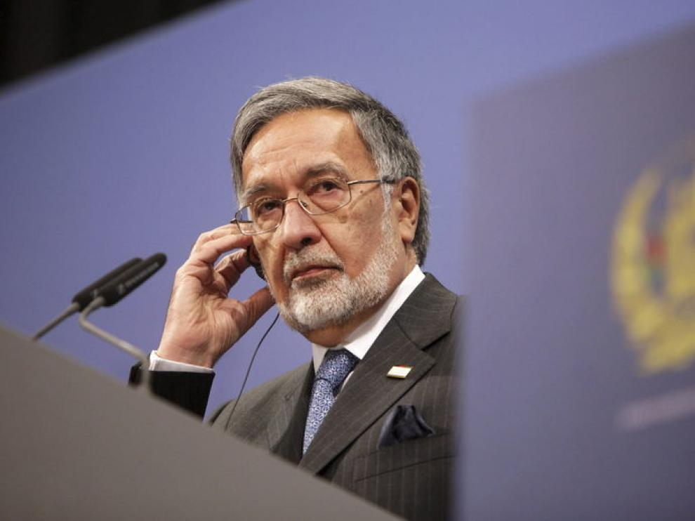 El ministro afgano de Exteriores en la conferencia internacional