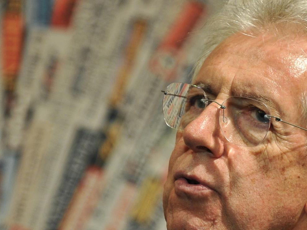 Monti, primer ministro italiano