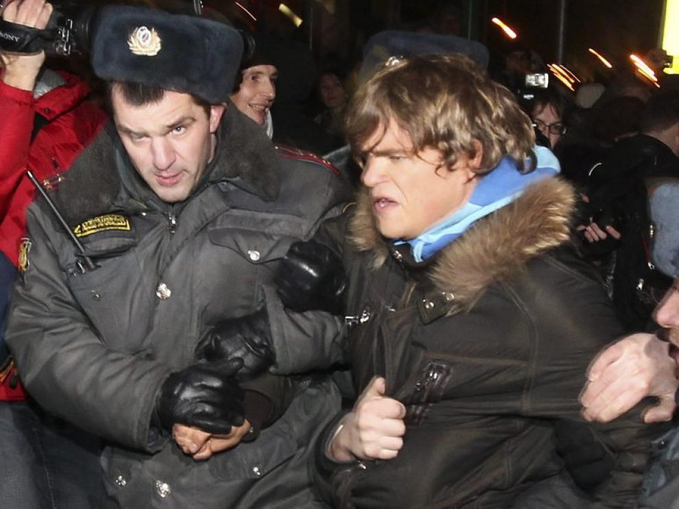 La Policía ha efectuado cientos de detenciones