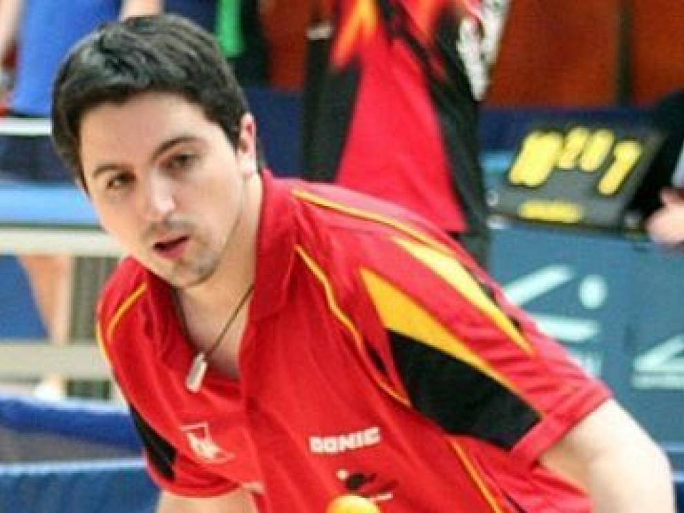 El palista Jorge Cardona en una imagen de archivo