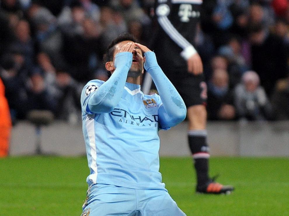 El jugador del Manchester City Sergio Agüero