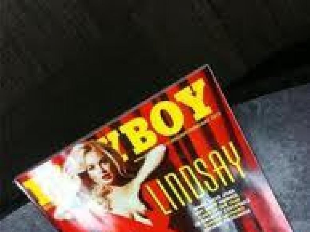 Portada de Lindsay Lohan que circula por la red