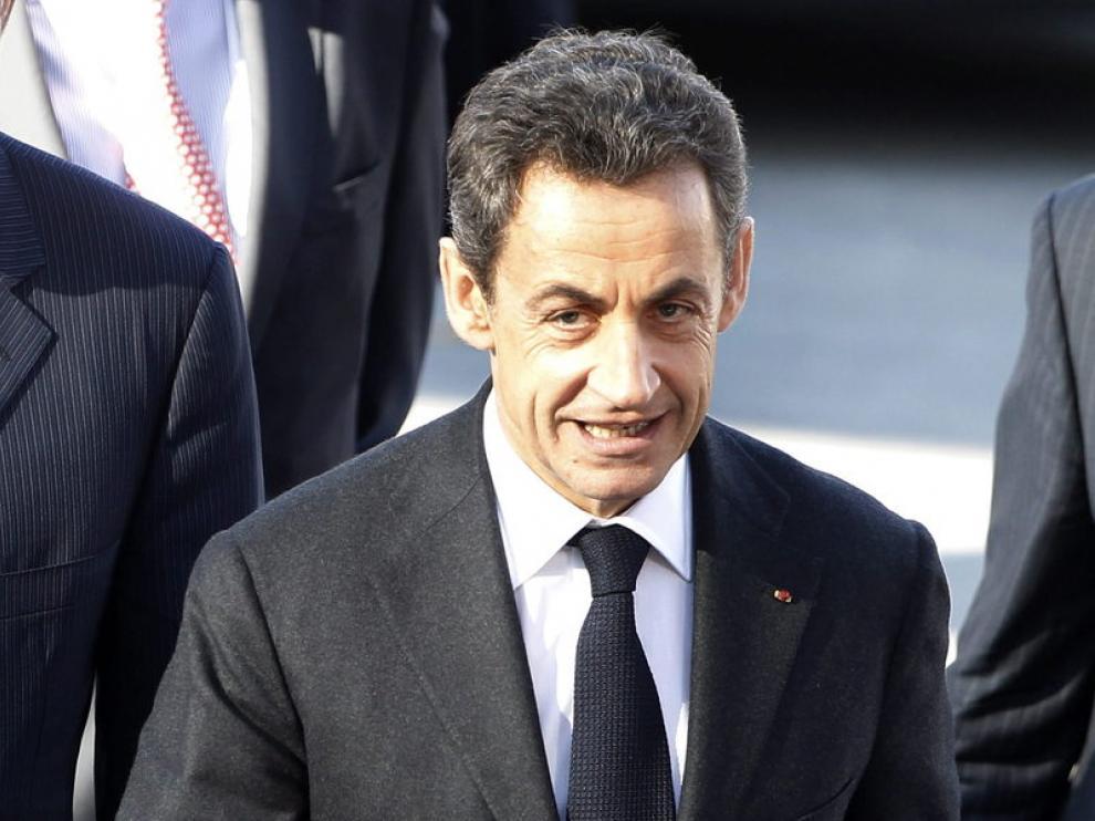 El presidente francés, Nicolás Sarkozy