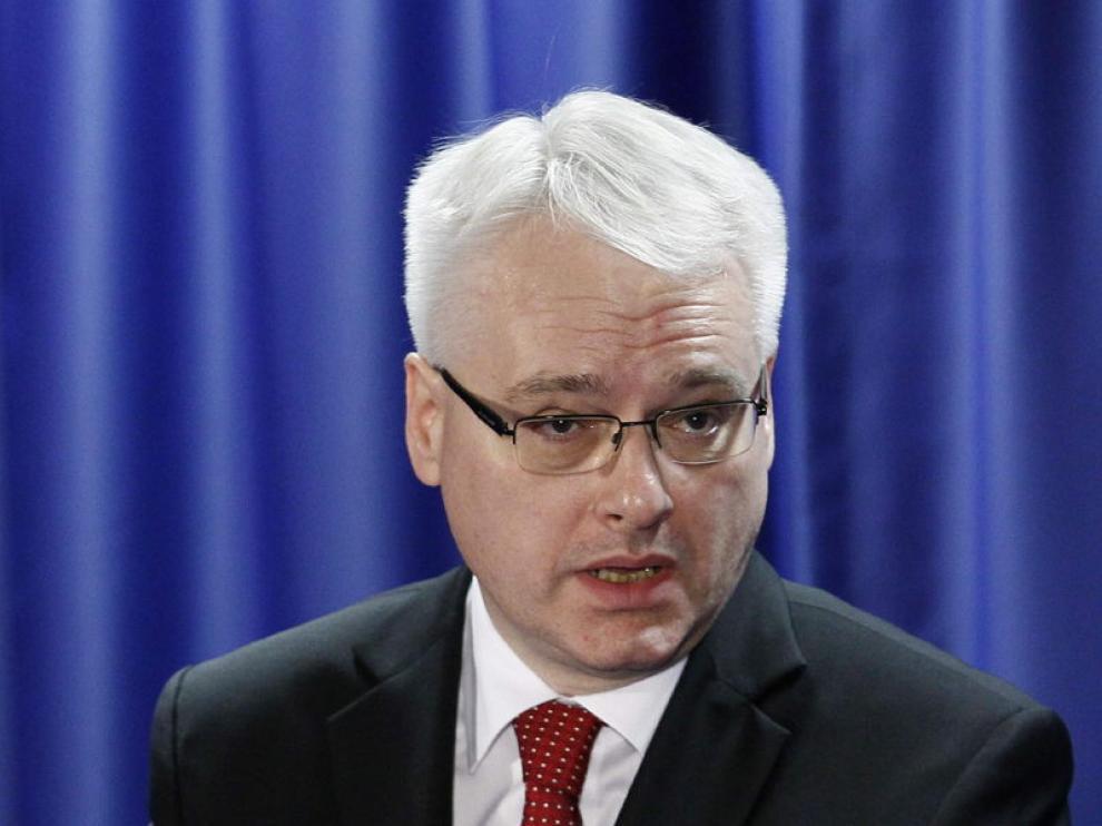 El presidente croata Ivo Josipovic habla sobre la adhesión del país a la UE.