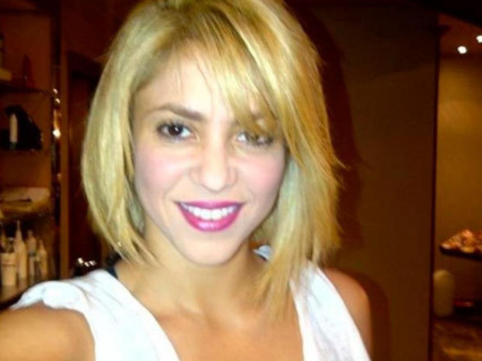 Shakira muestra su nuevo 'look'