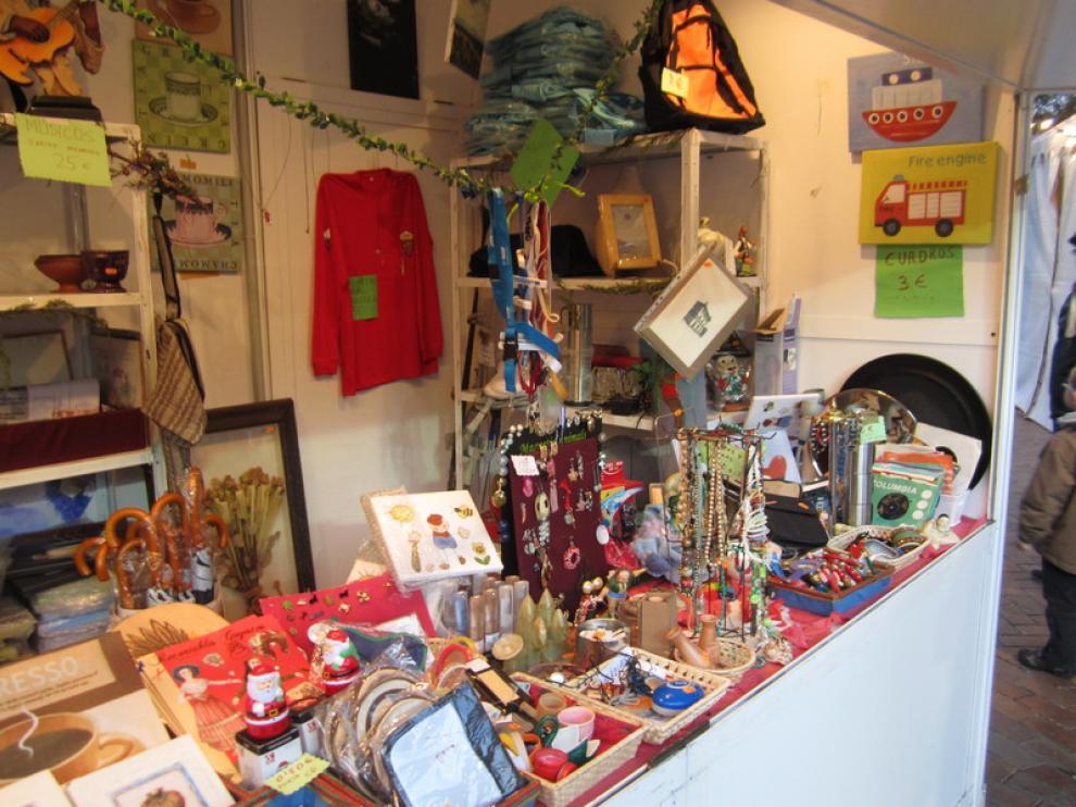 Decoración, ropa, webcams... en este stand hay sitio para todo