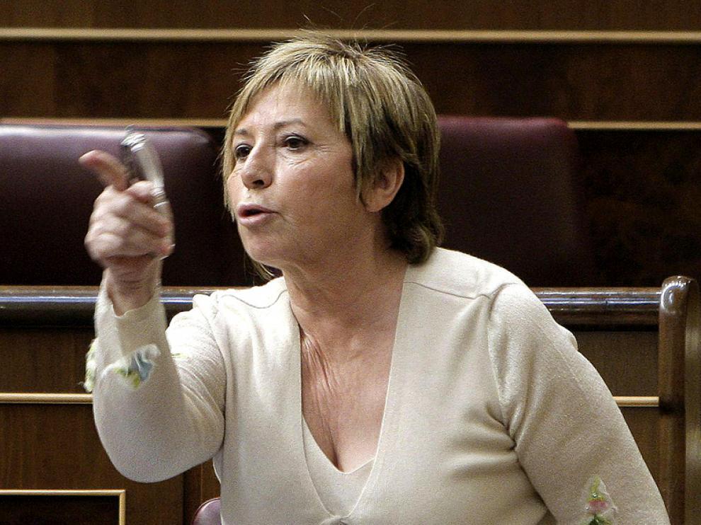 Celia Villalobos, a quien Rajoy ha nombrado vicepresidenta del Congreso, en una imagen de archivo