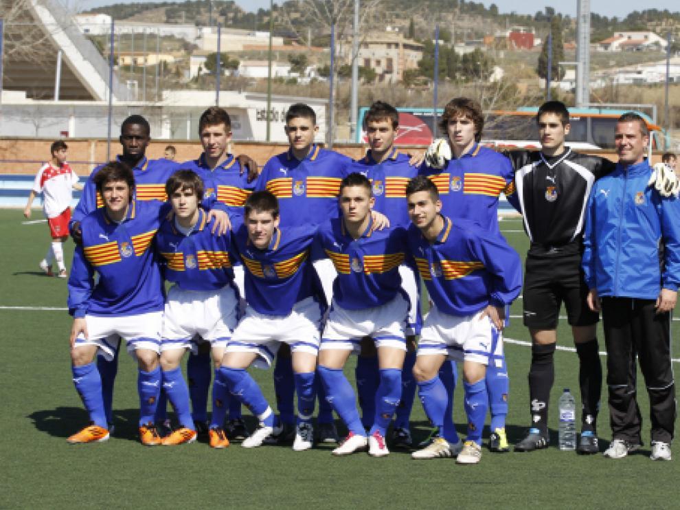 Formación de la temporada pasada en el Campeonato de España