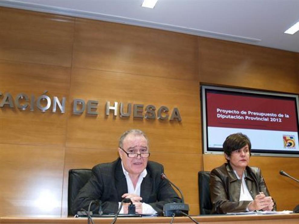 Imagen de la presentación de los presupuestos