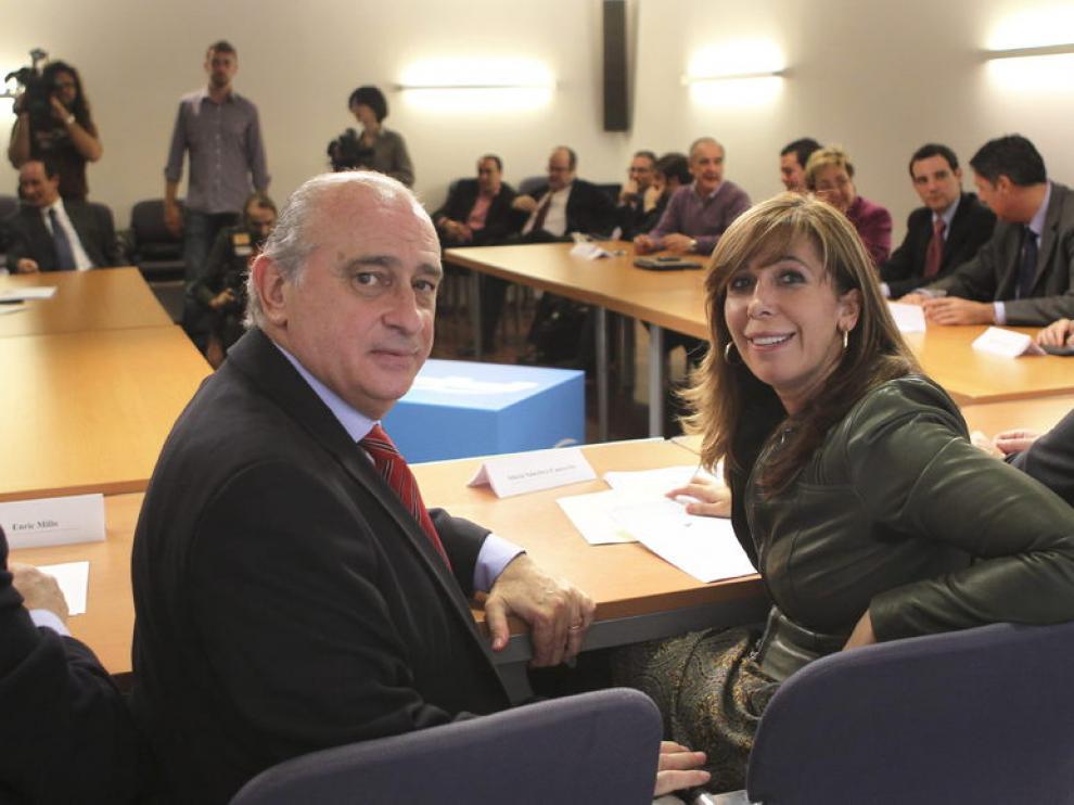 Jorge Fernández Díaz y Alicia Sánchez Camacho