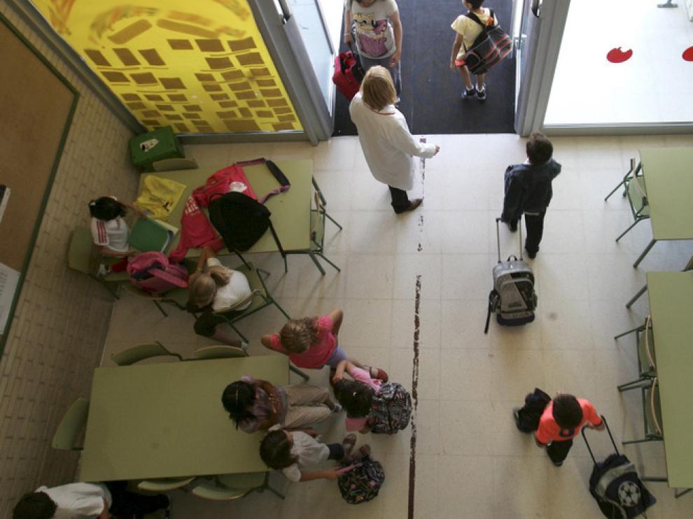 Los colegios, testigos de la falta de recursos en las familias