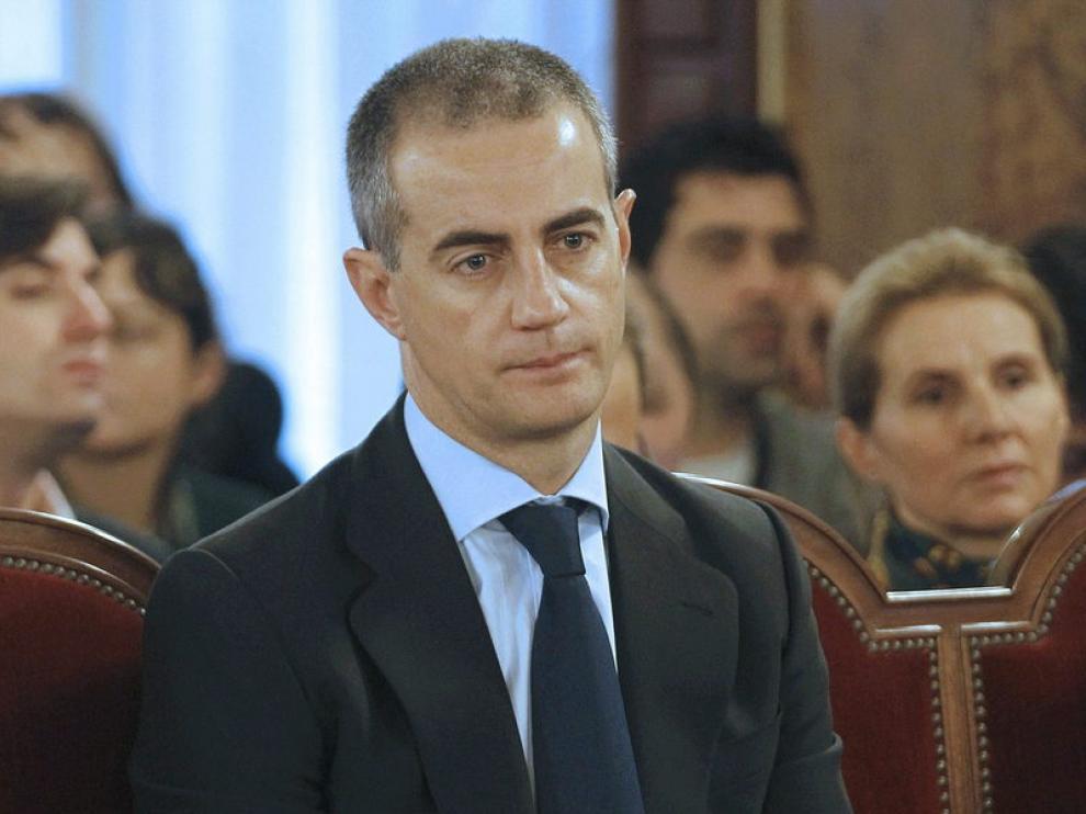 El ex secretario regional del PP, Ricardo Costa durante la segunda jornada del juicio.