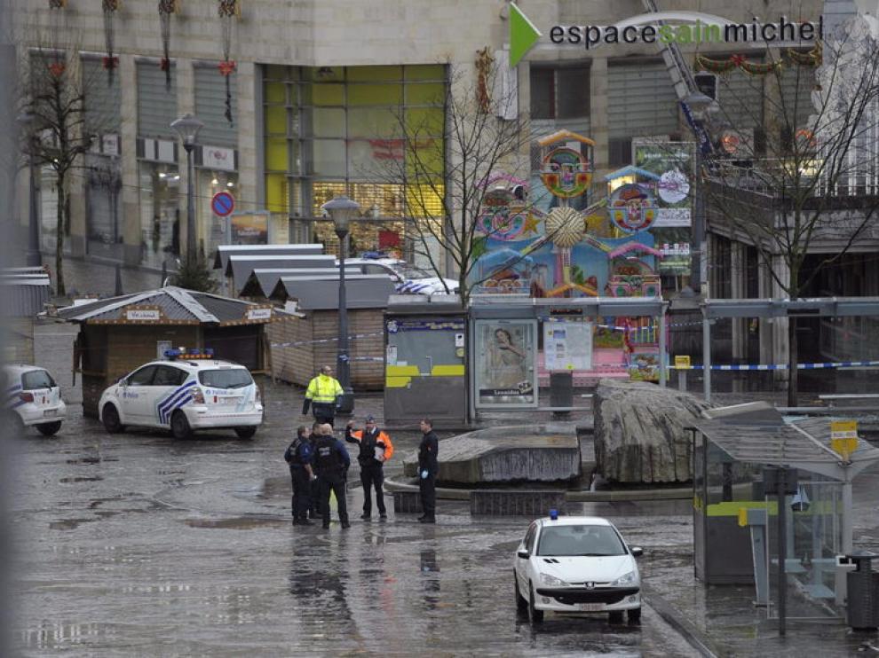 Lugar donde se produjo el atentado