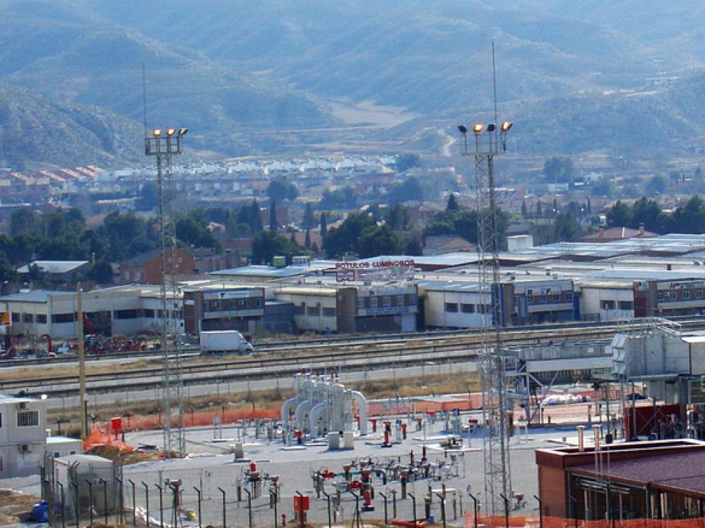 Imagen de la planta de Enagás.