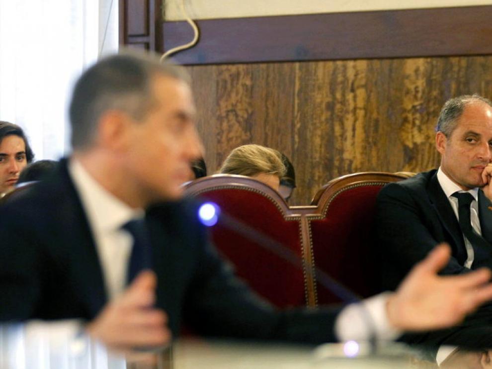 Costa, durante su declaración
