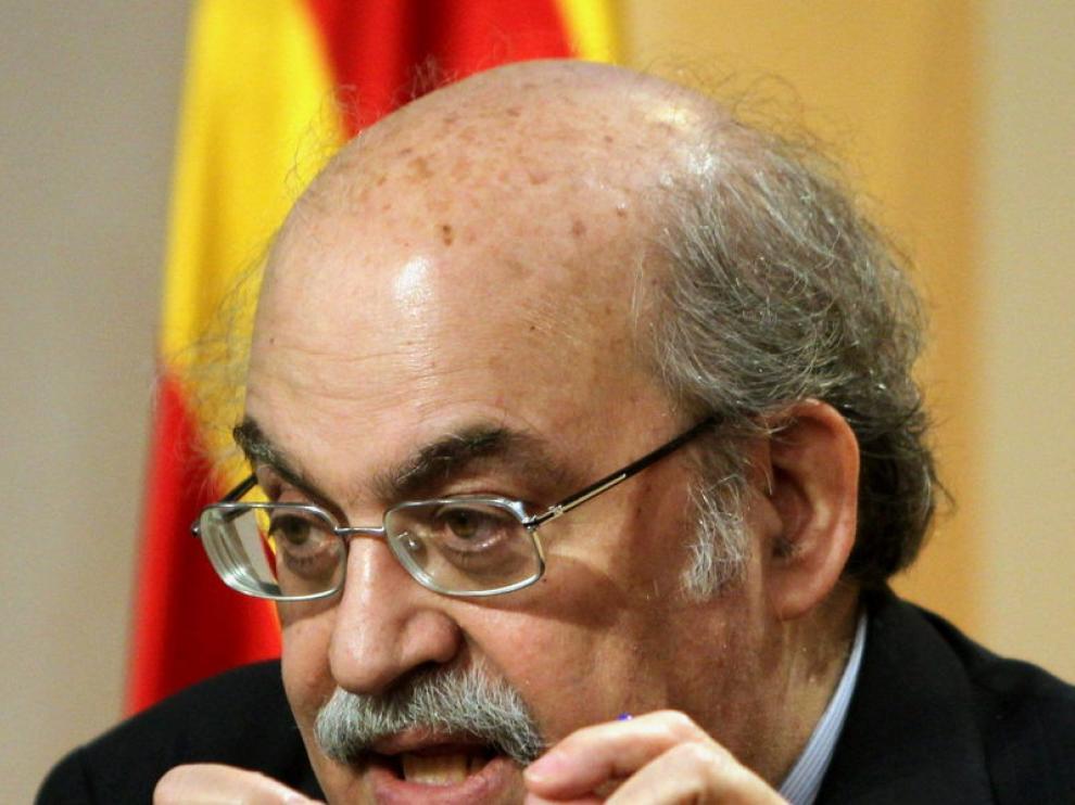 Andreu Mas-Colell, consejero de Economía de Cataluña