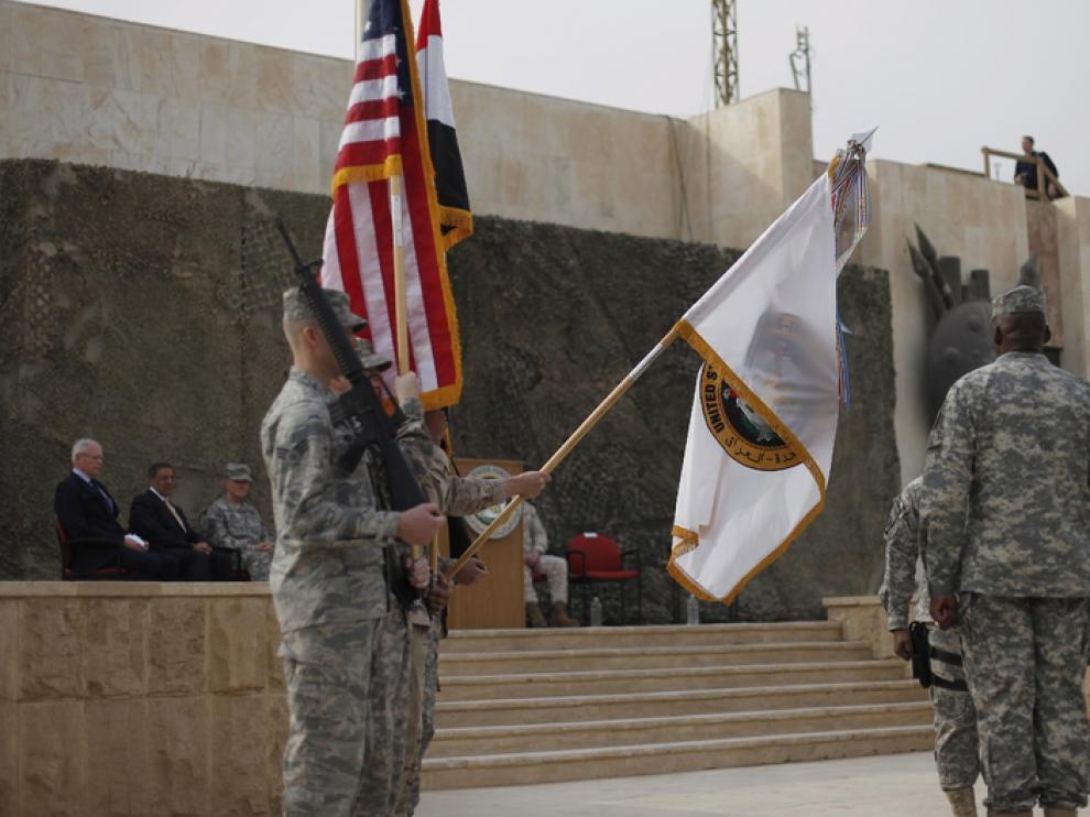 Ceremonia de entrega de poder en Irak
