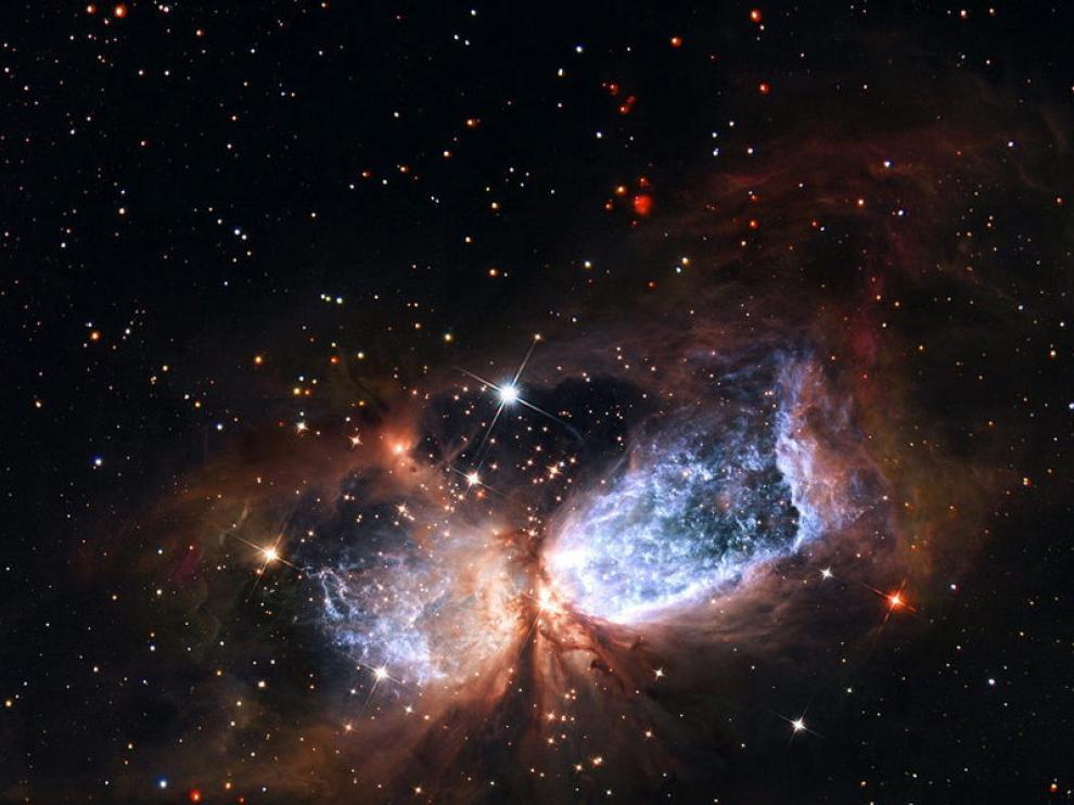 La formación de una estrella