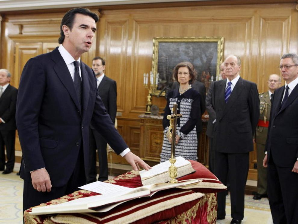 El nuevo ministro de Industria, Energía y Turismo, José Manuel Soria