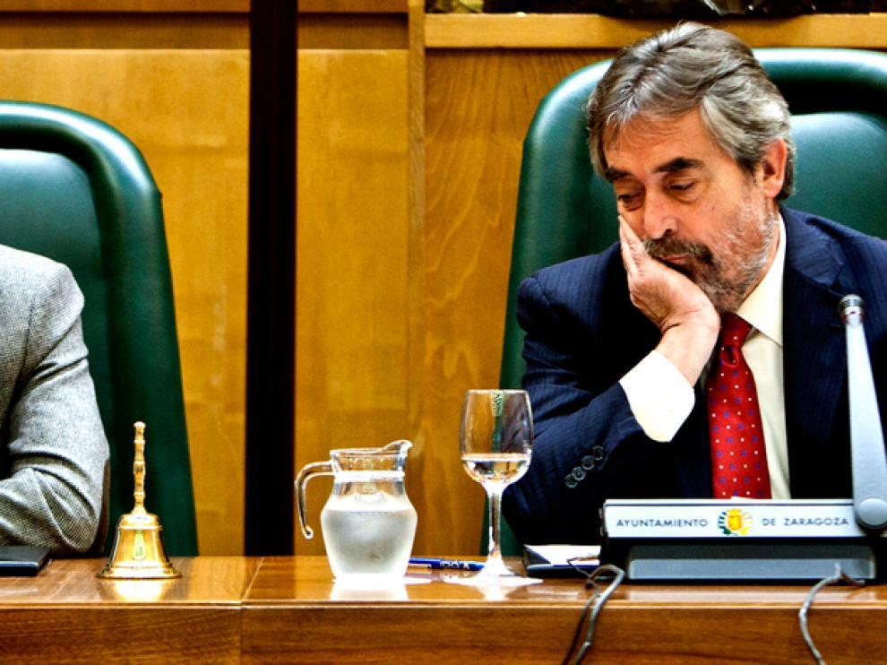 El alcalde de Zaragoza