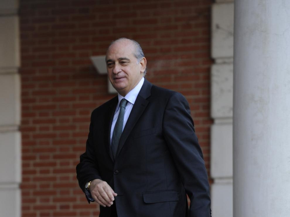 Jorge Fernández-Díaz, ministro de Interior