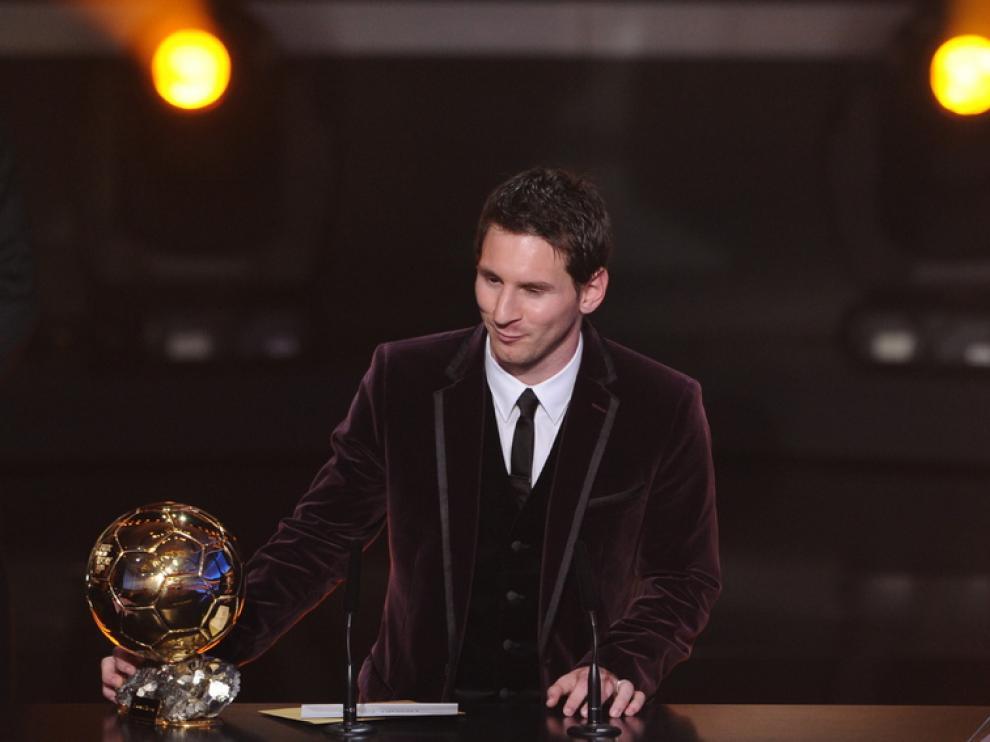 Lionel Messi, balón de oro