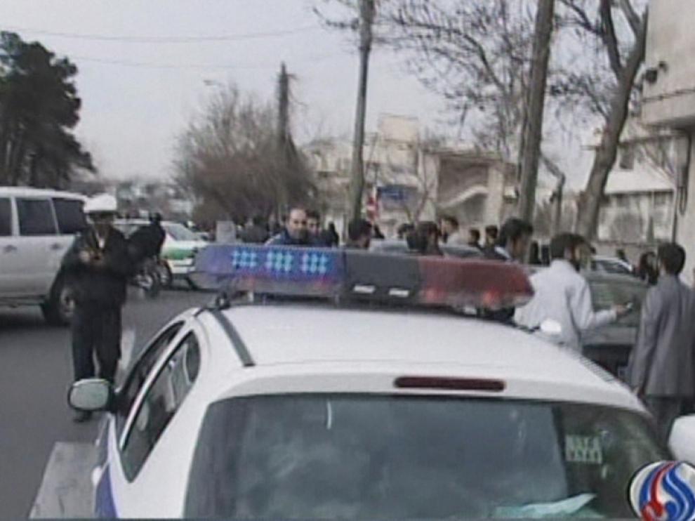 El atentado ha tenido lugar cerca de la Universidad de Teherán